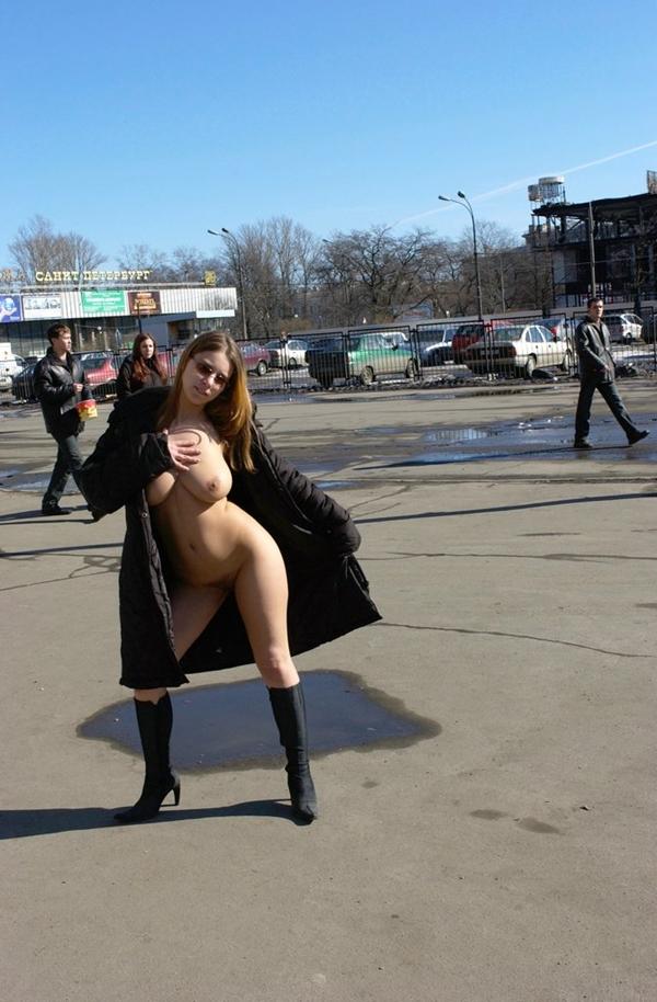 Boobs on Public - Hot Naked Women In Public; Amateur Public