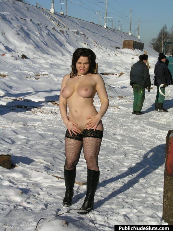 Public Nude- Outdoor Teens; Amateur Public