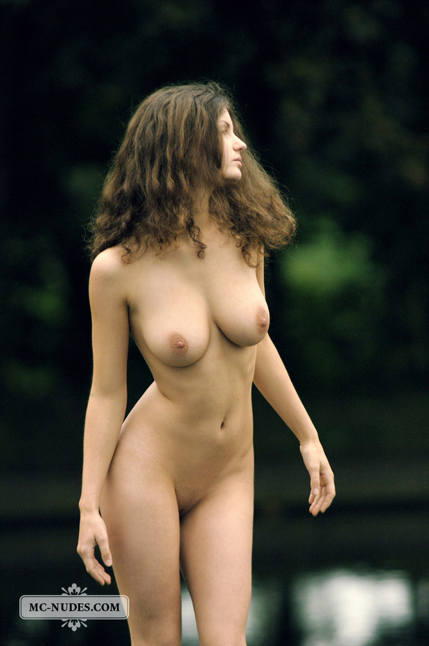 Susann is a beauty girl that enjoys a sunny day near the lake.; Big Tits