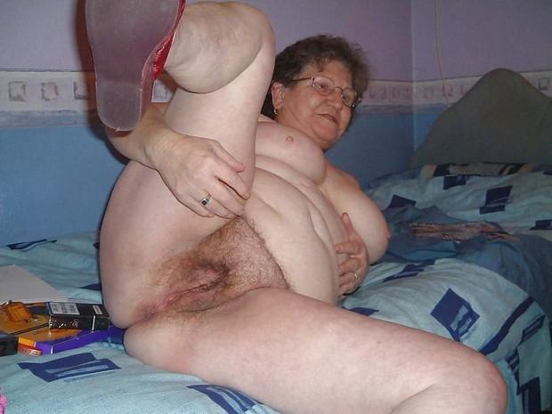 фото жирных старых голых баб