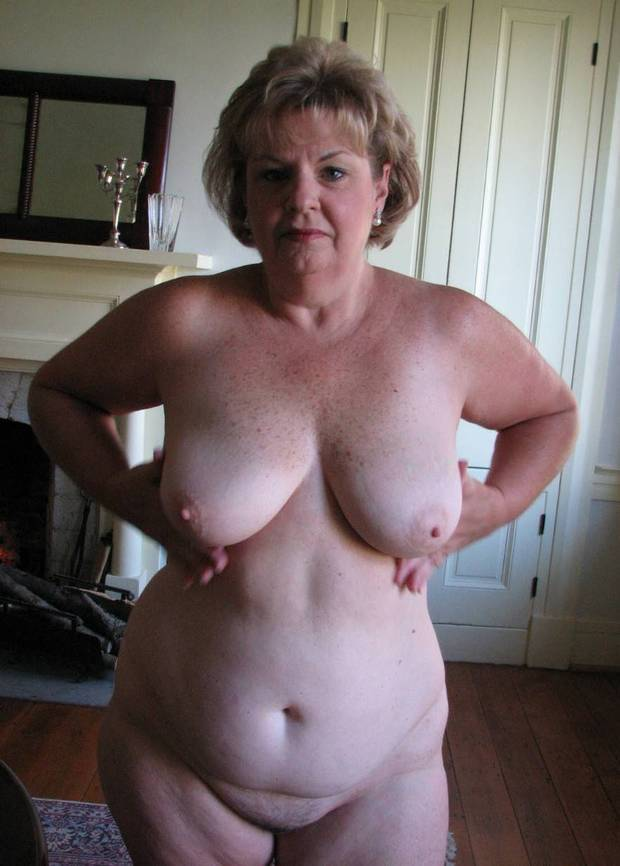 tits huge Amateur mature bbw