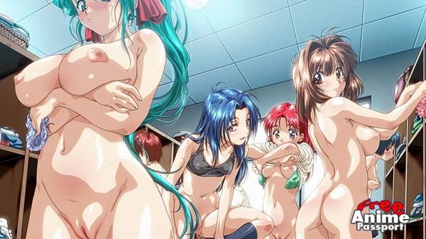 аниме порно подглядывающие
