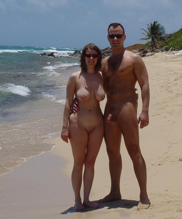 муж с женой голые на пляже фото
