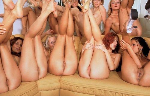 lesbian pornstar orgy in bikinis