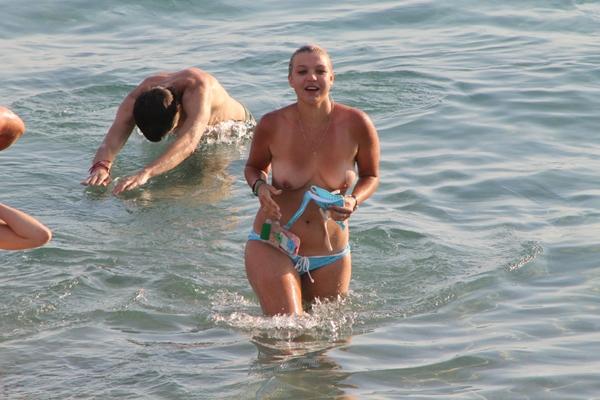 Pussy on Beach - Nude Lesbian Beach; Amateur Beach