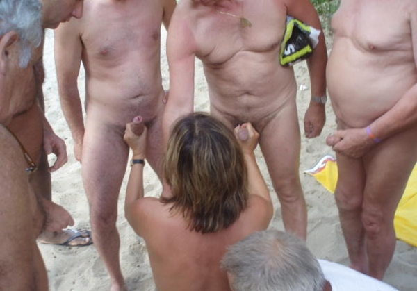 nudist orgy