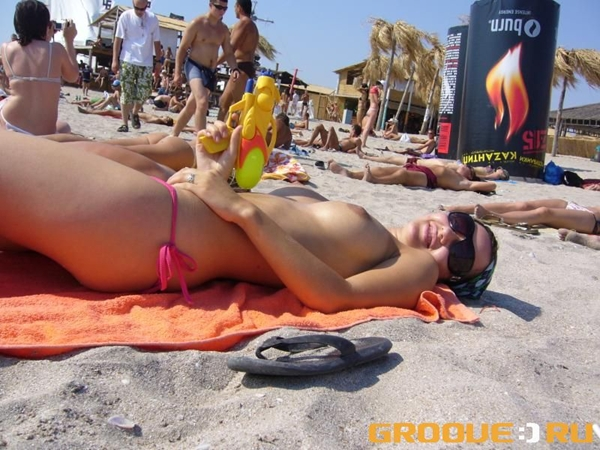 Pussy on Beach – Cute Butt