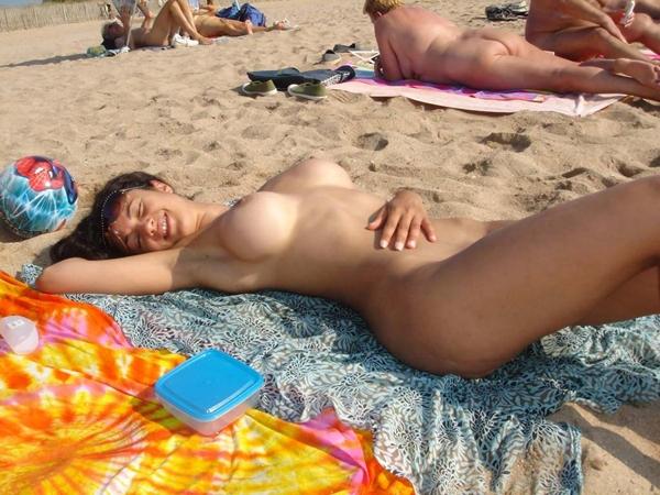 фото голых пляж