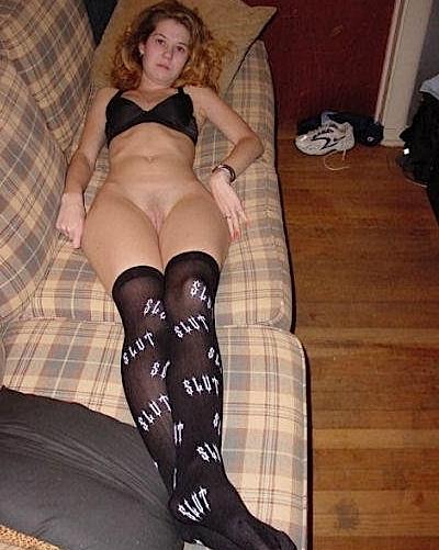 Slut; Amateur Blonde