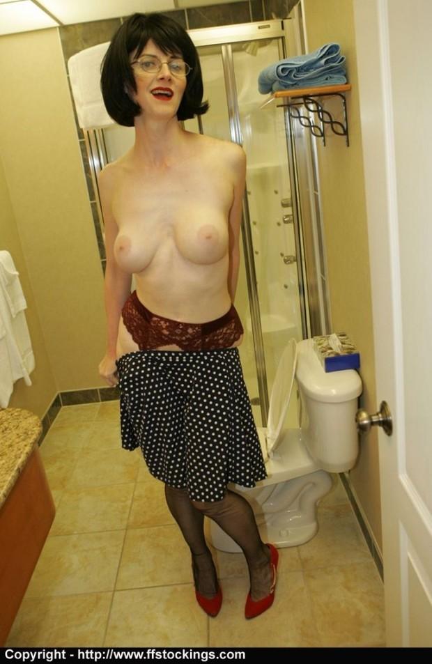 ...; Big Tits Lingerie Mature MILF