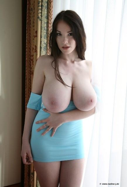 Anna Song; Big Tits Brunette